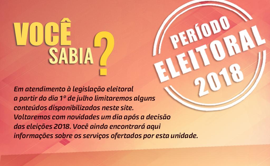 Arte site período eleitoral